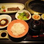 22205359 - 特選ランプステーキ定食 2205円