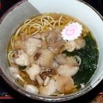 レストラン母手寿 - 料理写真:きのこそば 1000円