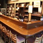 エル・ボン・ヴィーノ - 落ち着いた雰囲気のカウンター席は、ゆっくりワインとお食事を楽しめます♪