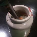 カレーハウス 大島屋 - new 2013.10 ピクルスの入った壷