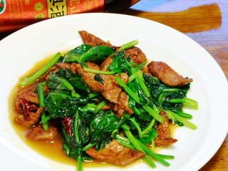 台湾料理 味鮮館 - ◆ホウレン草とレバーの炒め 「750円」