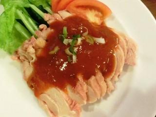 台湾料理 味鮮館 - ◆バンバンジー 「550円」