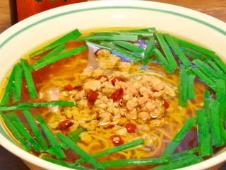 台湾料理 味鮮館 - ◆台湾ラーメン(辛口) 「480円」