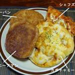 まんぷくさん - パン4種