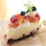 Biscuiterie Gourmandise - 無花果の生レアチーズケーキ