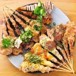 串ごろう - 料理写真:大人気の「せせり」です!