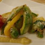 リナトキッチン - アボガドと旬野菜のフリット