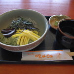 茶の里 映山紅 - 茶そうめん630円