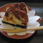 茶の里 映山紅 - なべくらチーズケーキ