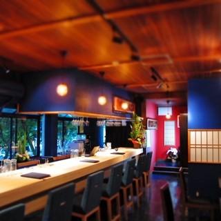 『小京都』のbarをイメージ