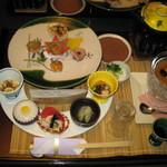 ゆめみの宿 観松館 - 【夕食】地場産茸【2011年10月撮影】