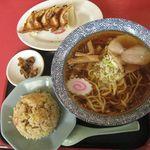 茨珍麺飯食堂 - ラーメンセット¥840