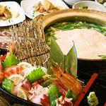 和 Dining なごみ - ふわとろ食感★とろろ鍋コース登場♪本格寿司と創作料理の食べ放題プランが3,500円で楽しめる個室空間!