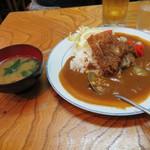 カレーコーナー三原 - カツカレー(550円)
