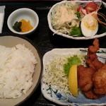 Otokohatsurai - (単品)唐揚げ&サラダ