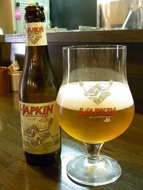 焼鳥佐藤 - パンプキンじゃないよ ハプキン¥880だよ ラガーより苦いビール♪