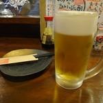 やきとん すずき - 生ビール450円
