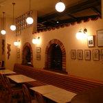 リストランテ エスト - カフェスペース、イタリアのバールにいるような雰囲気をお楽しみ下さい・・・