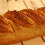 an Apple - プルーンのパン
