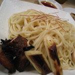 北井てっぺい - てっぺいつけ麺(炙りチャーシューが旨い)