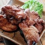 遊の谷 - 赤鶏のから揚げ