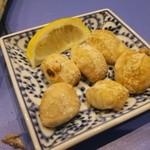 海三昧 おさしみ家 - サケの白子焼き