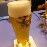 海三昧 おさしみ家 - 生ビール