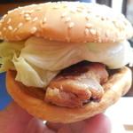 サンテオレ - 塩麹焼きチキンバーガー
