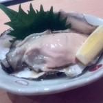 鮨 よし田 - 三重産の牡蠣