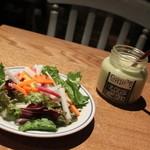 グリップ オーガニック - ランチセットのサラダ