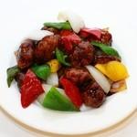 大連食府 - 料理写真:黒酢スブタ