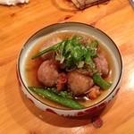新日本料理 旬味 すずの木 - 131101 里芋の揚げ出し風鱈場蟹のあんかけ