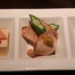 虎之介 - 前菜三種盛り