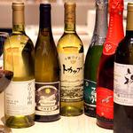 やさい家めい - こだわりのワインもご用意。当店ソムリエによるお料理に合うワインを厳選いたしました