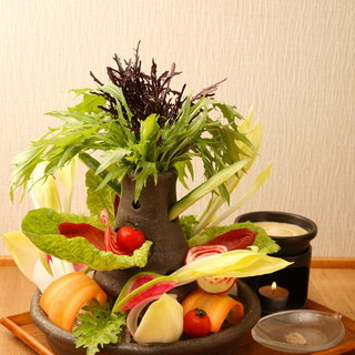 自慢のおいしいお野菜をご堪能ください!お野菜料理中心のお店です♪