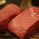 SATOブリアン - 赤身の塊肉150㌘~