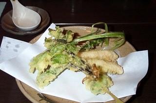 蕎麦 阿き津 - 天麩羅盛りあわせ