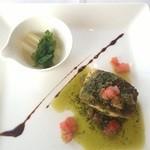 ティラ - 真鯛のポアレ