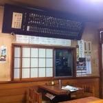 朝日屋 - 蕎麦屋定番のメニュー札