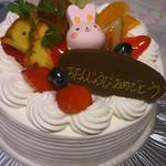 スノーマン洋菓子店 - 料理写真:バースデーケーキ 5号
