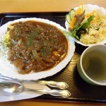 茶夢 - 料理写真:オムハヤシライス