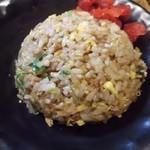 中華そば 吟 - 炒飯セットのミニ炒飯