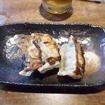 中華そば 吟 - 炒飯セットの餃子