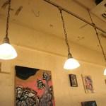 cafe doudou - 抽象画が魅力的