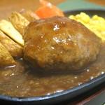 ハンバーグレストラン まつもと - ハンバーグステーキ【和風ジンジャーソース】
