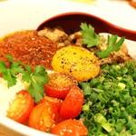 十夢 - トマトまぜラーメン( 太麺 )