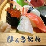 お食事処 ひょうたん - にぎり寿司セット