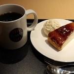 タリーズコーヒー - ミルクレープブリュレセット