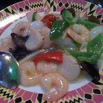 静安飯店 - 海鮮炒め