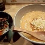 京担 - 担担麺(並)、キムチャーめし